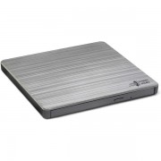 Lg (GP60NS60) External Slimline DVD Re-writer, Usb, 8x, Grey, M-disc S