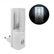 Mgs33 Night Light 3 Led Avec Capteur Crépusculaire Yl-260e, 1,2 Watts, Woolworth,