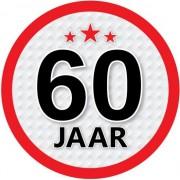 Shoppartners Luxe 60 jaar stickers