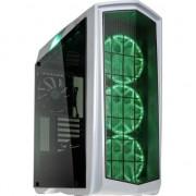 Carcasa pentru pc de jocuri , Silverstone , SST/PM01W/RGB Midi Tower ATX , alb
