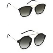 Eyeland Round, Oval, Wayfarer Sunglasses(Green)