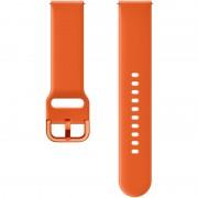 Curea smartwatch Samsung Galaxy Watch Active Sport Band Orange