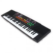 Kids Piano, YIFAN 54 Key Electronic Keyboard with Microphone and Piano Sore Stand Musical Toyfor Children (Type 5468)