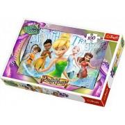 Puzzle Trefl 100 Tinkerbell cu Zane Prietene