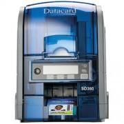 Impresora SD360, impresión una o dos caras, tolva para entrada de 100 tarjetas.Datacard 506339-001 ID Card Printer
