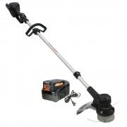 Pachet trimmer iarba cu acumulator (motocoasa) Redback EA314, 120V, 2Ah cu acumulator si incarcator