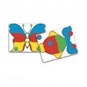 Puzzle Fantacolor Junior Quercetti, 48 piese, 2 ani+