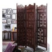 Shilpi Mango Wood Partition Screen Room Divider NSHC0287