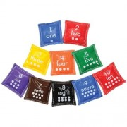 Number Bean Bags (Set of 10)