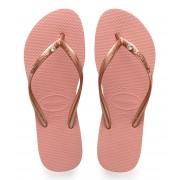 Havaianas Slippers Flipflops Slim Crystal Glamour Roze