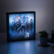 Star Wars 3D Luminart The Last Jedi