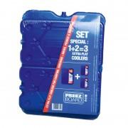 Element racire Connabride pentru lada frigorifica , 3 bucati la set ( 1x800g+ 2x400g ) ce mentine temperatura pana la 10 ore Kft Auto