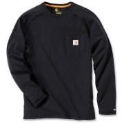Carhartt Force Cotton Camisa de manga larga Negro M