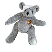 """Recordable 15 Inch """"Zombie Love"""" Teddy Bear with 10 Second Digital Recorder"""