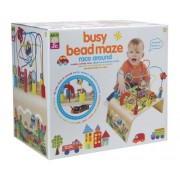 Alex Toys Jr Busy Bead Maze Race Around, Multi Color