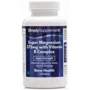 Simply Supplements Super-magnesium-375mg-vitamin-b-complex