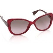 Vogue Over-sized Sunglasses(Pink, Brown)