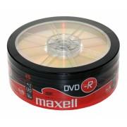 DVD-R 4.7GB 16x 25buc Maxell (DVD-R-4.7GB-16X-SHR25-MXL)