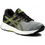 Обувки ASICS - Gel-Phoenix 9 T822N Stone Grey/Black/Safety Yellow 1190