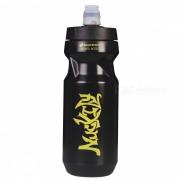 NUCKILY RD002 Botella de agua portatil resistente a las fugas y resistente a las fugas para los deportes que completan un ciclo - negro