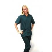 Costum medical verde inchis unisex