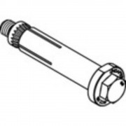 Vijak za povezivanje čeličnih šupljih profila LINDAPTER, nehrđajući čelik A4 M8 1 kom.