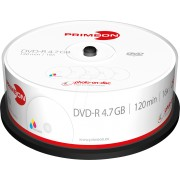 PRIM 2761205 - DVD-R 4.7GB/120Min, 25-er Cakebox