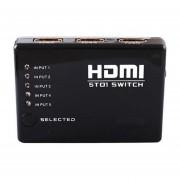 1080P 3D HDMI Switch Selector 5 En 1 Divisor De Salida (8 * 6 * 2 Cm)