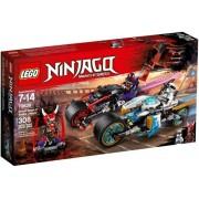 Lego Ninjago Gaturace med motorcyklar 70639