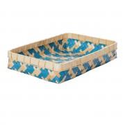Dekoria Kosz Stripes 46x31,5x9cm -50%, 56 × 32 × 9 cm
