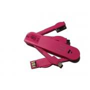 USB punja? univerzalni za mobilne pink
