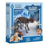 Geo World Ice Age Excavation Kit Mammoth ?Scientific Handicraft Educational Toy Model? Geoworld Ice Age Excavation Kit Mammuthus Skeleton Genuine