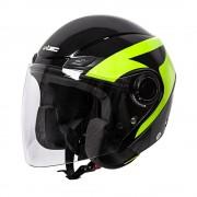 W-tec Moto Helma W-Tec Nankko Black-Fluo Xl (61-62)