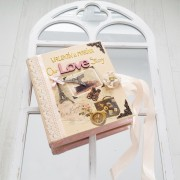 "Album - jurnal vintage ""Our love story"""