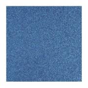 Rayher hobby materialen Glitter papier blauw vel