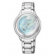 Ceas de dama Citizen EW5520-84D Elegance Diamante Naturale 32mm 5ATM