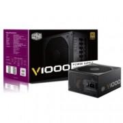 Захранване 1000W CoolerMaster V1000 Vanguard, модулно, Active PFC, 80+ Gold, 135mm вентилатор, 5г. гаранция