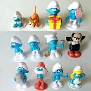 The Smurfs Elves Papa The Lost Village Action Figure Toys 12pcs/Set