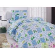 Lenjerie de pat copii Happy Turtle