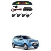 KunjZone Car Reverse Parking Sensor Black With LED Display Parking Sensor For Maruti Suzuki Alto 800