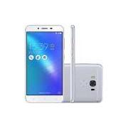 Smartphone Asus Zenfone 3 Max Snapdragon Dual Chip Android 6 Tela 5.5 32GB 4G Wi-Fi Câmera 16MP - Prata