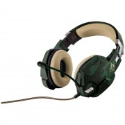 Trust Gxt 322c Gaming Headset Green Camouflage
