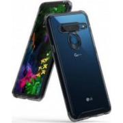 Husa LG G8 ThinQ Ringke FUSION Transparent Fumuriu