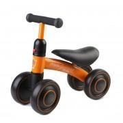 ODG Triciclo Moto Cavalcabile Equilibrio Bici Gioco Senza Pedali Primi Passi 4 Ruote