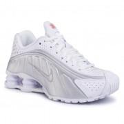 Обувки NIKE - Shox R4 AR3565 101 White/White/Metallic Silver