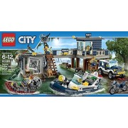 LEGO City Police Swamp Police Station (707pcs) Figures Building Block Toys