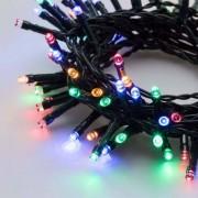 e-Led Light Catena 180 luci LED Reflex Multicolore a Batteria per interno/esterno con controller memory