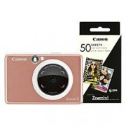 Canon 2-in-1 Instant Camera ZoeMini S 8 Megapixel Rose Gold