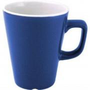 Churchill Super Vitrified Churchill New Horizons Colour Glaze Cafe Latte Mugs Blue 340ml (Pack of 12)