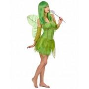 Vegaoo Grünes Feenkostüm für Damen